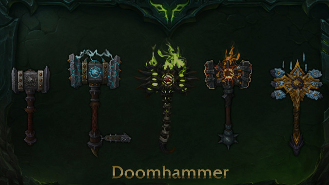 New Artifact Weapons