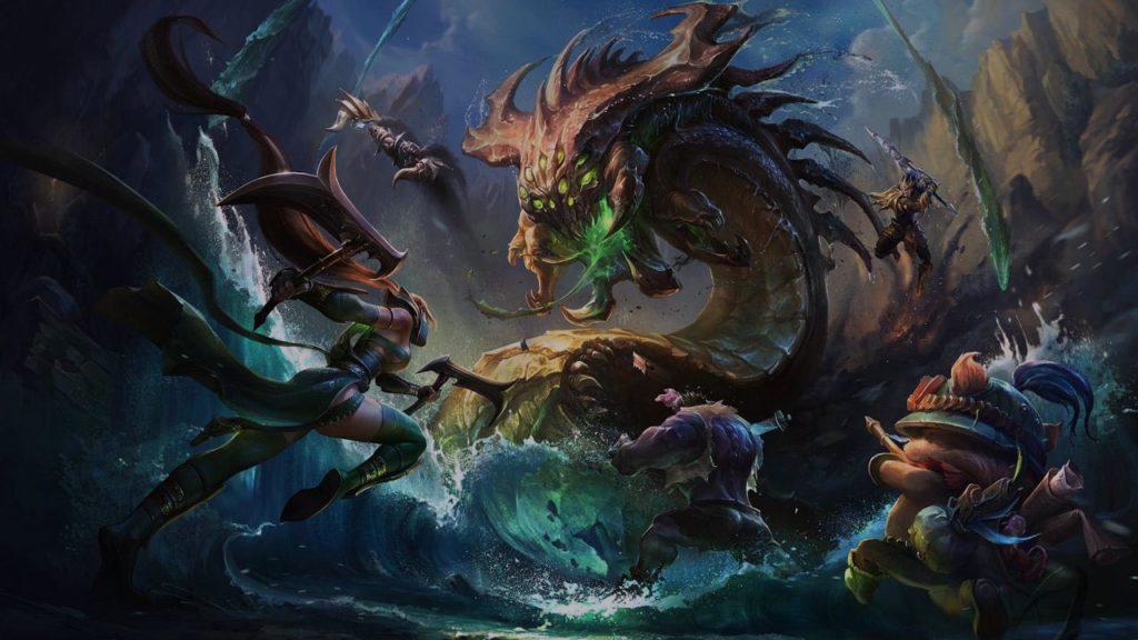 League of Legends preseason 2017