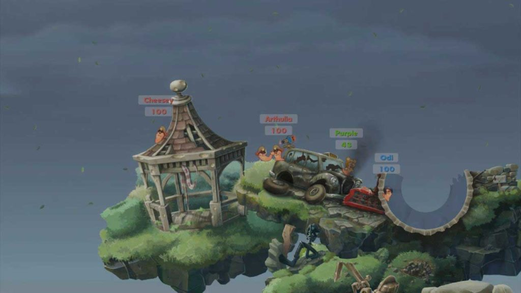 Worms WMD gameplay