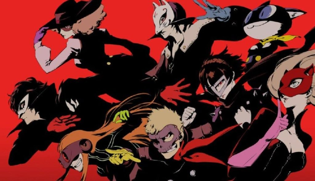 Persona 5 all heroes